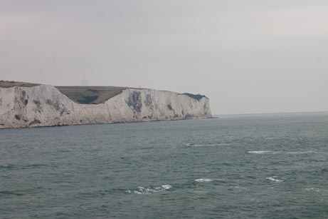 cliffs of dover. chalk cliffs of Dover from